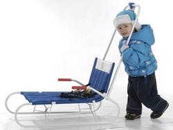 Как выбрать санки для ребенка: виды санок и их фото