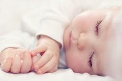 Ребенок крепко спит
