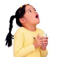 Как научить ребенка полоскать горло ?