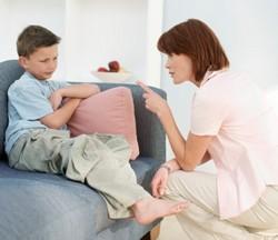 Почему на ребенка не действуют наказания ?